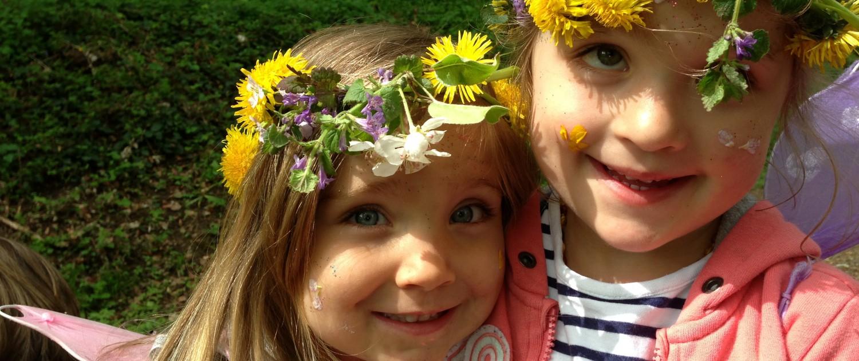 girls in crowns
