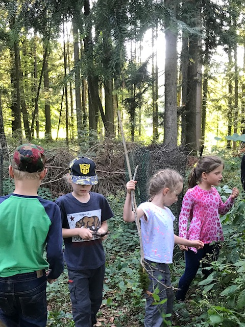 Register now for 2019/2020 Monthly English Language After School Forest Adventure